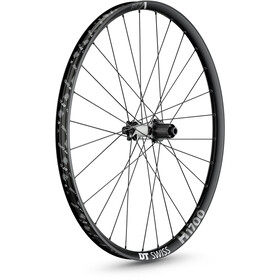 "DT Swiss H 1700 Spline Rear Wheel 27.5"" Disc 6-Bolt 148/12mm Thru-Axle 35mm MicroSpline, black"